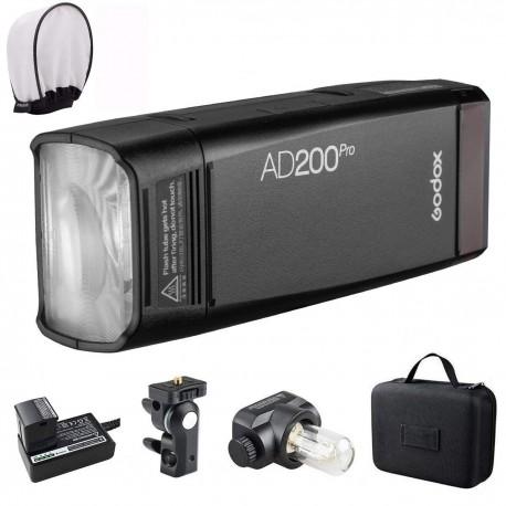 Studijas zibspuldzes - Godox pocket flash AD200 Pro - perc šodien veikalā un ar piegādi