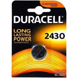 Batteries and chargers - Duracell Electronics 2430 baterija DL2430/CR2430 K2430 3V Lithium - buy today in store and with delivery