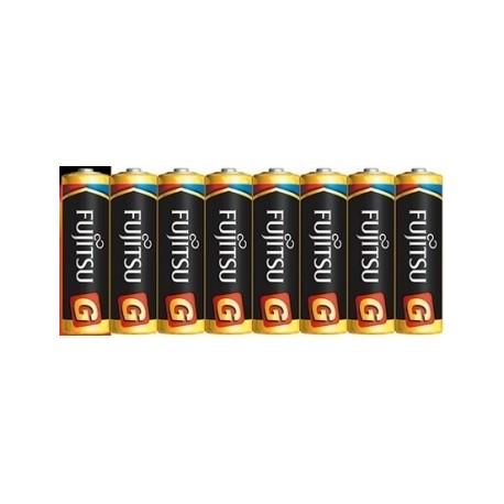 Батарейки и аккумуляторы - Alkaline Batteries Fujitsu LR6G 8xAA - купить сегодня в магазине и с доставкой