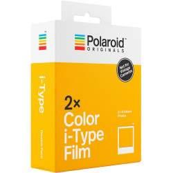 Instantkameru filmiņas - POLAROID ORIGINAL COLOR FILM FOR I-TYPE 2-PACK - perc šodien veikalā un ar piegādi
