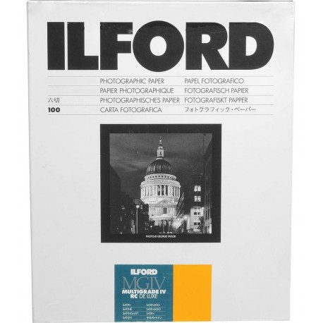 Photo paper - Ilford paper 17.8x24cm MGIV MGIV 25M satin 100 sheets (1772036) - quick order from manufacturer