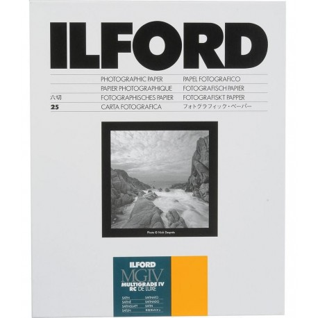Photo paper - Ilford paper 17.8x24cm MGIV MGIV 25M satin 25 sheets (1772018) - quick order from manufacturer