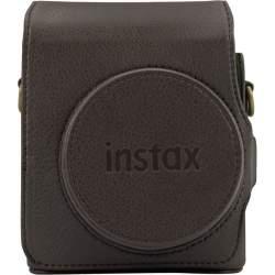 Koferi Instant kameram - Fujifilm Instax Mini 90 futrālis + siksna, brūns 70100139133 - ātri pasūtīt no ražotāja