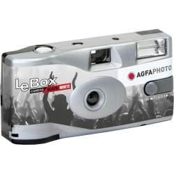 Filmu kameras - Agfaphoto Agfa LeBox Flash Black & White 400/36 - perc šodien veikalā un ar piegādi