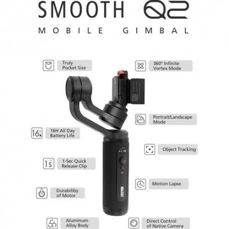 Stabilizatori - Zhiyun Smooth Q2 - perc šodien veikalā un ar piegādi
