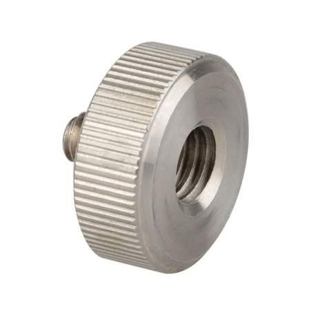 Skrūve/adapteris 1/4-20 skrūve, 3/8 vītne DRS-18 length 18mm diameter 25mm shaft 10mm - perc šodien veikalā un ar piegādi