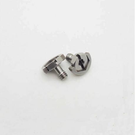 Statīvu aksesuāri - D-ring Screw 1/4 (Hex) Diameter 20mm length 13mm - perc šodien veikalā un ar piegādi