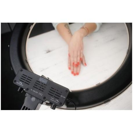 """""""Ring"""" pastāvīgā gaisma - Newell LED ring light KIT RL-18A – WB (3200 K – 5500 K) - perc šodien veikalā un ar piegādi"""