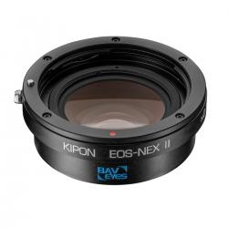 Adapters for lens - Kipon Baveyes Adapter EOS to Sony E (0.7x) II - quick order from manufacturer