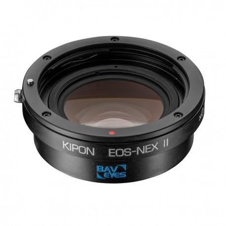 Objektīvu adapteri - Kipon Baveyes Adapter EOS to Sony E (0.7x) II - ātri pasūtīt no ražotāja