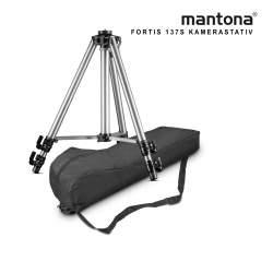 Foto statīvi - Mantona Basic Fortis 137S tripod - ātri pasūtīt no ražotāja