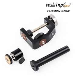 Turētāji - Walimex pro KX-25 Stand Clamp with ball head - ātri pasūtīt no ražotāja