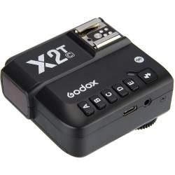 Radio palaidēji - Godox X2T-C TTL Wireless Flash Trigger for Canon - купить сегодня в магазине и с доставкой