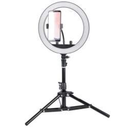 Кольцевая лампа LED - StudioKing SKRL10 Светодиодная кольцевая LED BI-COLOR лампа с регулируемой - купить сегодня в магазине и с доставкой