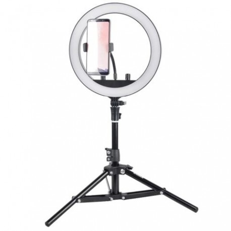 """""""Ring"""" pastāvīgā gaisma - StudioKing Bi-Color LED Ring Lamp Set SKRL10 - perc šodien veikalā un ar piegādi"""