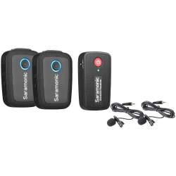 Sound recording - Saramonic BLINK 500 B2 (TX+TX+RX) 2.4GHZ radio microphone set rent
