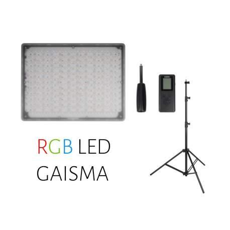 Video gaismas - Yongnuo LED Light YN-600 RGB - WB (3200 K - 5500 K) noma