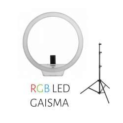 Video lights - Yongnuo Ring LED Light YN-608 RGB - WB (3200 K - 5500 K) rent