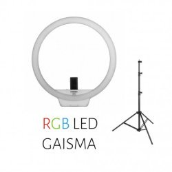 Video gaismas - Yongnuo Ring LED Light YN-608 RGB - WB (3200 K - 5500 K) noma