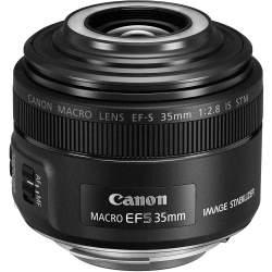 Objektīvi - Canon EF-S 35mm F2.8 Macro IS lens - купить сегодня в магазине и с доставкой