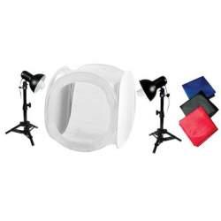 Gaismas kastes - StudioKing priekšmetu fotografēšanas komplekts WTK75 - perc šodien veikalā un ar piegādi