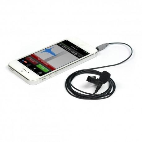 Mikrofoni - Rode smartLav + Lavalier piespraužamais mikrofons viedtālruņiem un planšetēm - perc šodien veikalā un ar piegādi