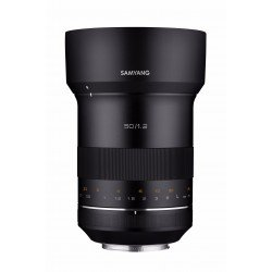 Objektīvi - Samyang XP 50mm F/1.2 Canon - ātri pasūtīt no ražotāja