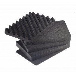 Koferi - bw B&W Outdoor Cases Type 5500 Yellow (w. foam) - ātri pasūtīt no ražotāja