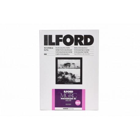 Foto papīrs - Ilford Photo ILFORD MULTIGRADE RC DELUXE GLOSSY 8.9x12.7cm 100 - ātri pasūtīt no ražotāja