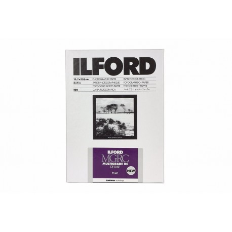 Foto papīrs - Ilford Photo ILFORD MULTIGRADE RC DELUXE PEARL 12.7x17.8cm 25 - perc šodien veikalā un ar piegādi