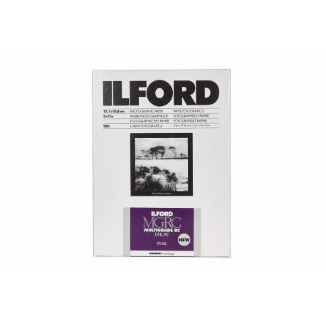 Foto papīrs - Ilford Photo ILFORD MULTIGRADE RC DELUXE PEARL 12.7x17.8cm 500 - быстрый заказ от производителя