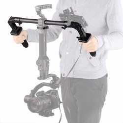 Rigu aksesuāri - SmallRig 2210 Dual Handgrip for Ronin S/Z Crane - ātri pasūtīt no ražotāja