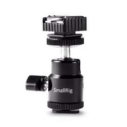 Accessories for rigs - SmallRig 1639 Ballhead with 2x Cold Shoe - buy today in store and with delivery