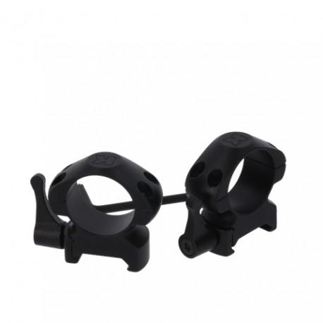 Optiskie tēmekļi - Konus Quick Release Mounting Rings 25,4 mm Medium - ātri pasūtīt no ražotāja