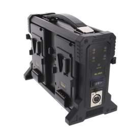 V-Mount аккумуляторы - Rolux Battery Charger RL-4KS for 4 x V-Mount Battery - быстрый заказ от производителя