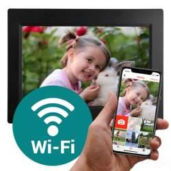 Dāvanas - Benel Photo Frameo Digital Photo Frame HF-101B Black 10.1 Inch - perc šodien veikalā un ar piegādi