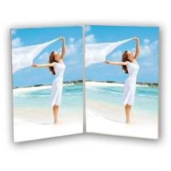 Dāvanas - Zep Double Photo Frame 730234 Vertical 2x 7x10 cm - ātri pasūtīt no ražotāja