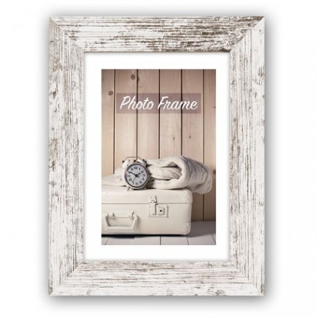 Photography Gift - Zep Photo Frame V21756 Nelson 6 White Wash 50x70 cm - quick order from manufacturer