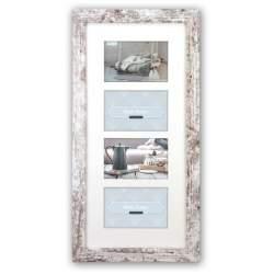 Фото подарки - Zep Photo Frame V24106 Nelson 6 4Q White Wash for 4 Photos - быстрый заказ от производителя