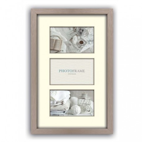 Photography Gift - Zep Photo Frame V33102 Regent 2 Taupe 3x 10x15 cm (23x40) - quick order from manufacturer
