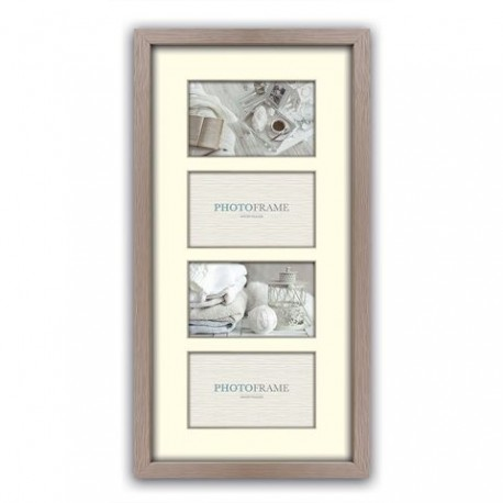 Photography Gift - Zep Photo Frame V34102 Regent 2 Taupe 4x 10x15 cm (26x53) - quick order from manufacturer