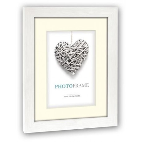 Photography Gift - Zep Photo Frame V32234 Regent 4 White 15x20 / 20x30 cm - quick order from manufacturer