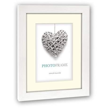 Photography Gift - Zep Photo Frame V32344 Regent 4 White 20x30 / 30x40 cm - quick order from manufacturer