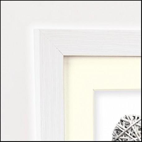 Dāvanas - Zep Photo Frame V32644 Regent 4 White 30x45 /40x60 cm - ātri pasūtīt no ražotāja