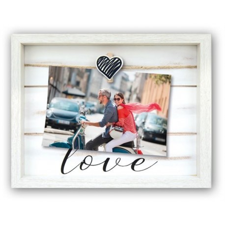 Photography Gift - Zep Photo Frame CX64W Vivienne White 10x15 cm - quick order from manufacturer