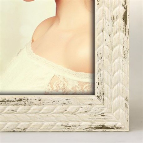 Фото подарки - Zep Photo Frame YT268W Livia White 15x20 cm - быстрый заказ от производителя