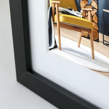 Фото подарки - Zep Photo Frame V5923B Niki Black 15x20 / 20x30 cm - быстрый заказ от производителя