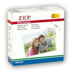 Photography Gift - Zep Photo Corners Self-adhesive CR500 500 Pcs 15x15 mm - buy today in store and with delivery