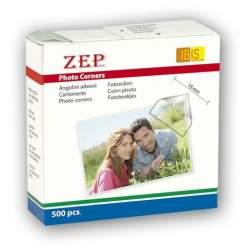 Dāvanas - Zep Photo Corners Self-adhesive CR500 500 Pcs 15x15 mm - perc šodien veikalā un ar piegādi