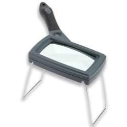 Palielināmie stikli - Carson Handheld Magnifier with Rubber Grip 2,5x85mm - ātri pasūtīt no ražotāja